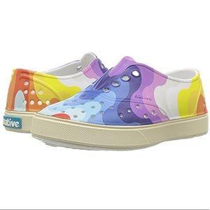 Native Miller C7 Rainbow Girls Slip Shoes Sandals